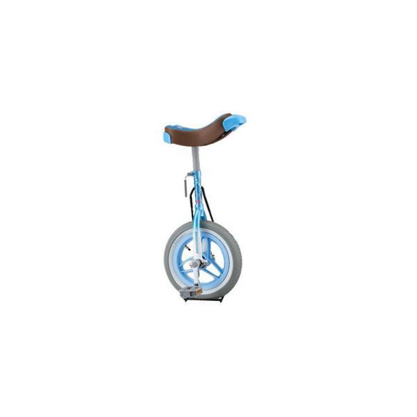 一輪車 スケアクロー ライトブルー SCW12LB スポーツ ブリヂストン製の一輪車「スケアクロウ」