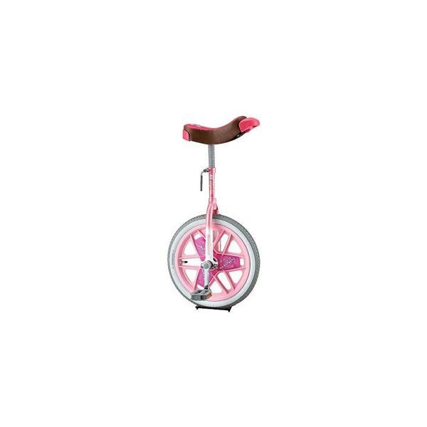 一輪車 スケアクロー ピンク SCW16PK スポーツ ブリヂストン製の一輪車「スケアクロウ」