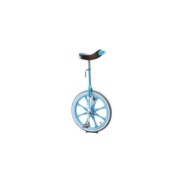 一輪車 スケアクロー ライトブルー SCW20LB スポーツ ブリヂストン製の一輪車「スケアクロウ」