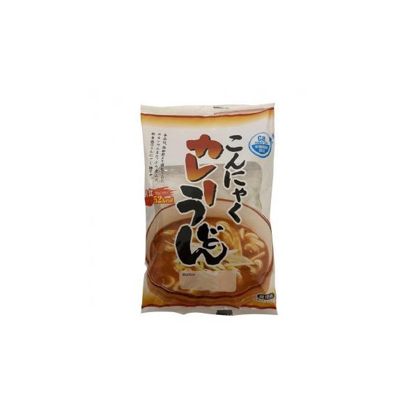 ナカキ食品 蒟蒻麺カレーうどん 24個セット ダイエット こんにゃく粉と大豆で練り上げたこんにゃく麺