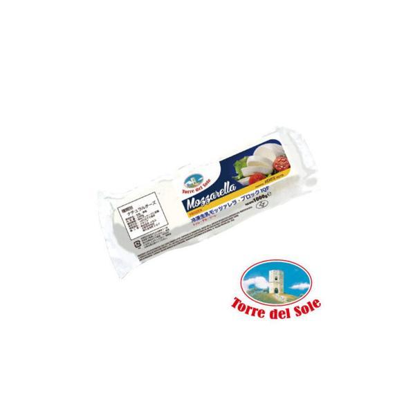 トッレ・デル・ソーレ 冷凍モッツァレラ IQF ブロック 1kg 12袋セット 807-901 チーズ・乳製品 個別急速冷凍技術による鮮度抜群のフレッシュチーズ