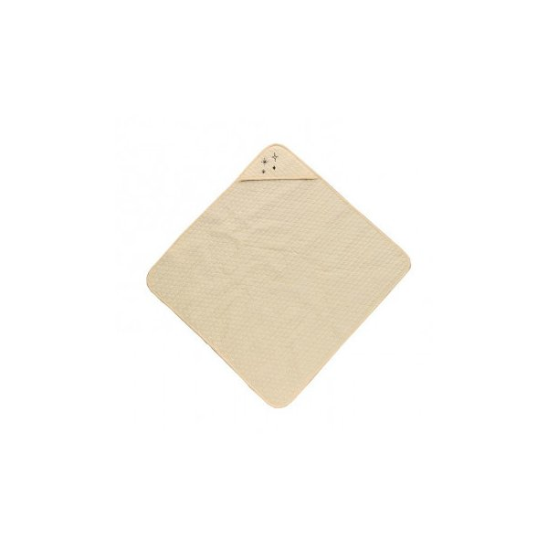 洗える やわらか イブル生地 おくるみ アイボリー 約85×85cm 9845548 ベビーウエア 肌触りのいいコットン100%の側生地のイブルのおくるみです