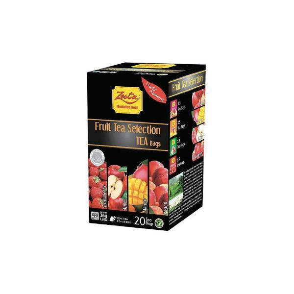 ゼスタ 20TB フルーツセレクション 1.8g×20 12セット 076035 飲料 産地の新鮮な香りをお楽しみください