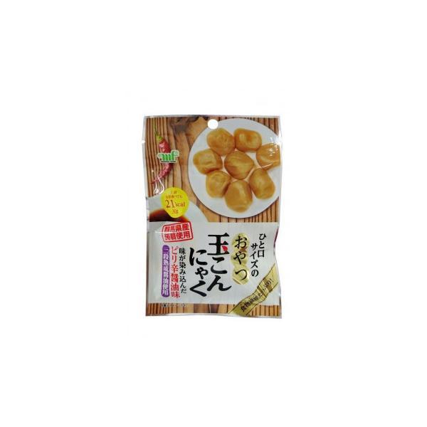 村岡食品工業 おやつ玉こんにゃく ピリ辛?油味 30g×10袋×12セット スイーツ・お菓子 群馬県産蒟蒻を一口サイズのおやつに仕上げました。