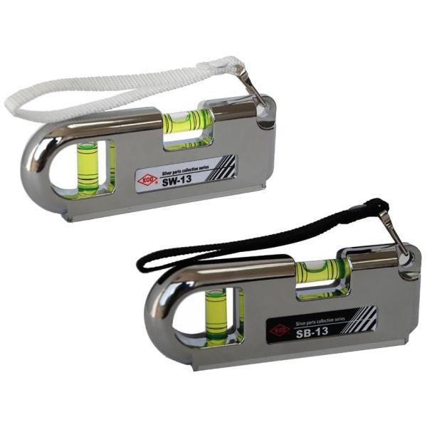 アカツキ ポケット水平器 ガーデニング・花・植物・DIY 携帯に便利なポケットサイズの小型水平器。