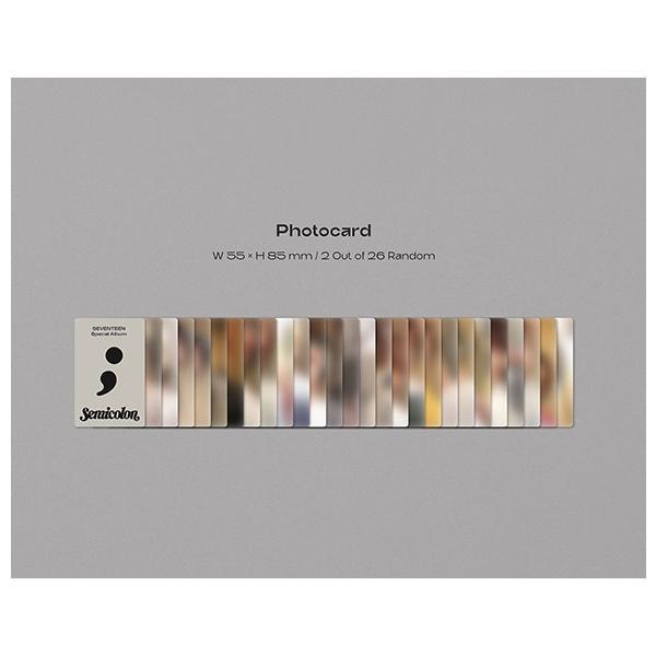 Seventeen Special Album - ; [Semicolon] CD (韓国盤)|scriptv|10