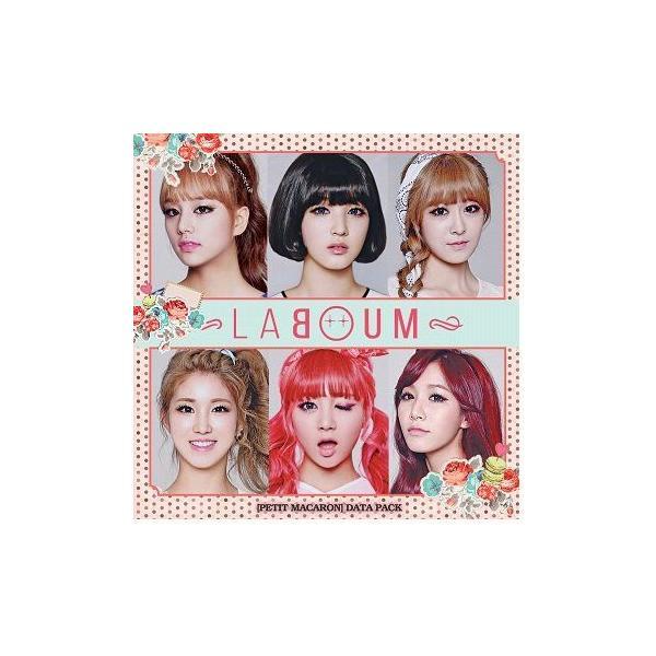 Laboum 1stシングル - Petit Macaron: Data Pack 韓国盤|scriptv