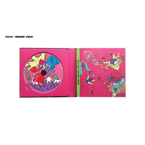 nct 127 3rdミニアルバム cherry bomb cd 韓国盤 srv8667