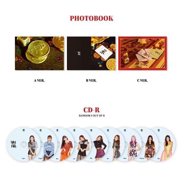 TWICE 6thミニアルバム - YES OR YES CD (韓国盤)|scriptv|03