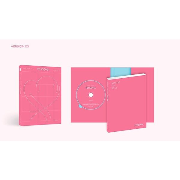 BTS - Map of The Soul  Persona CD (韓国版) scriptv 04
