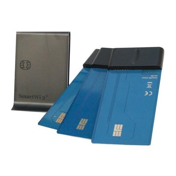 SmartWi3 最新ワイヤレスICカード分配器  スマートカードスプリッター 子機3枚セット SmartWi LITE UP|scs