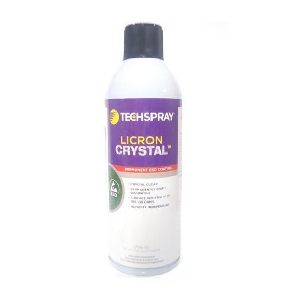 リクロンクリスタル 1756-8S Licron Crystal 静電気除去 グッズ 静電気 防止 スプレー 静電気対策 ひと吹きで半永久的に静電防止 車 燃費 Techspray