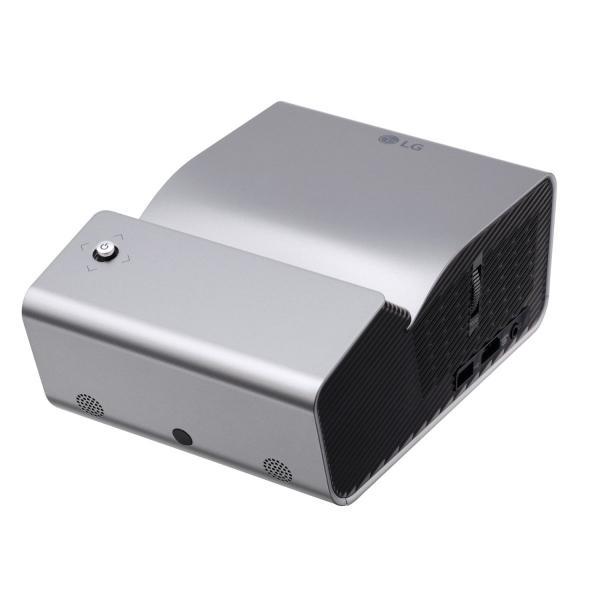 LG バッテリー内蔵型・超短焦点プロジェクター PH450UG シルバーの画像