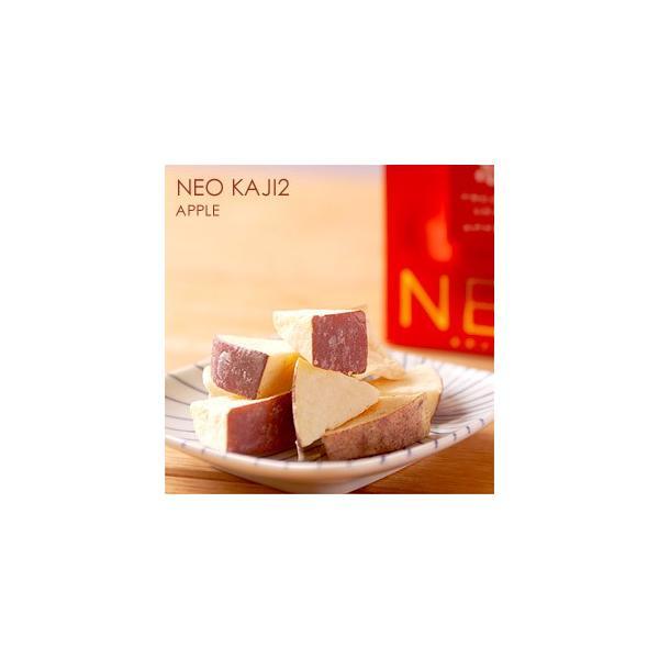 北海道十三菓 NEO KAJI2 アップル 70g ふたみ青果 ネオ果実 フルーツチョコ しみチョコ フリーズドライ 林檎 リンゴ りんご