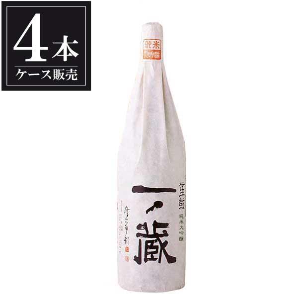 日本酒 一ノ蔵 純米大吟醸 笙鼓 1.8L 1800ml x 4本 (ケース販売)(一ノ蔵/宮城県 )|se-sake