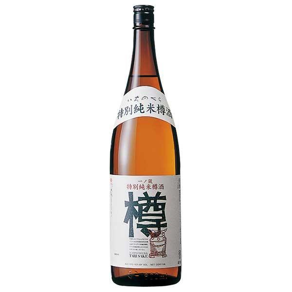 日本酒 一ノ蔵 特別純米樽酒「樽」 1.8L 1800ml (一ノ蔵 宮城県)