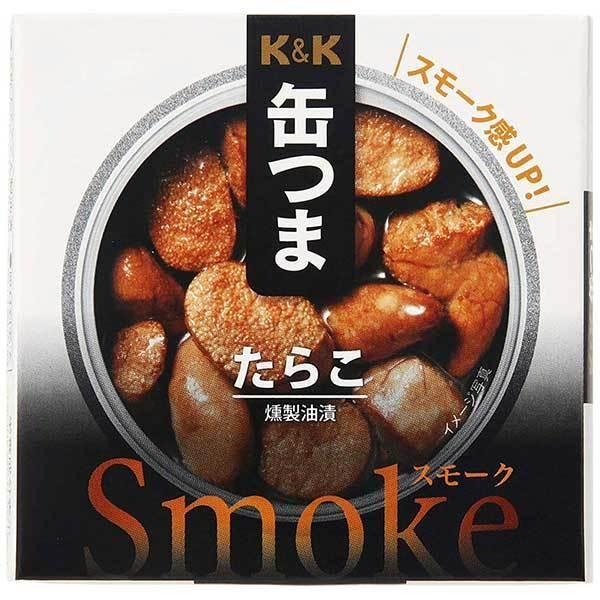 K&K 缶つまSmoke たらこ [缶] 50g [K&K国分 食品 缶詰 日本 0317824]