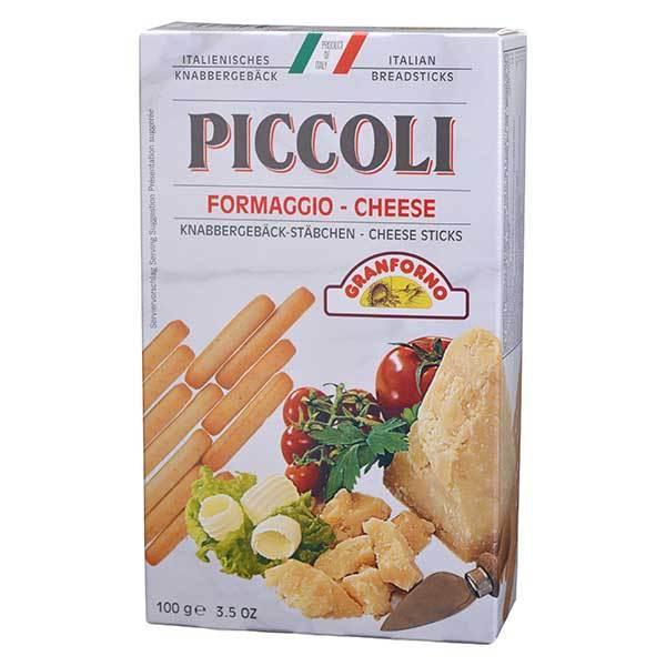 ズィンゴニア ミニグリッシーニ フォルマッジョ 袋 100g x 24袋 ケース販売 モンテ イタリア パン ピザ粉 グリッシーニ 005806