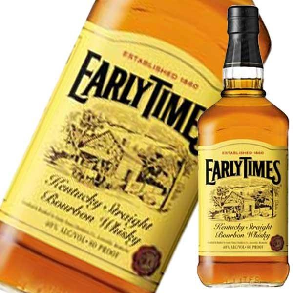 アーリータイムズ イエローラベル 40度 1L 1000ml 正規品 (EARLYTIMES アメリカ ウイスキー)|se-sake
