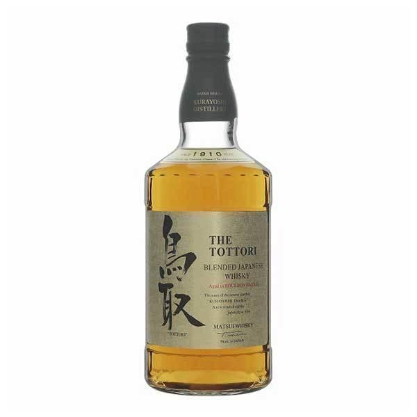 マツイウイスキー鳥取バーボンバレル(金ラベル)43度700ml 松井酒造日本鳥取県国産ウイスキー
