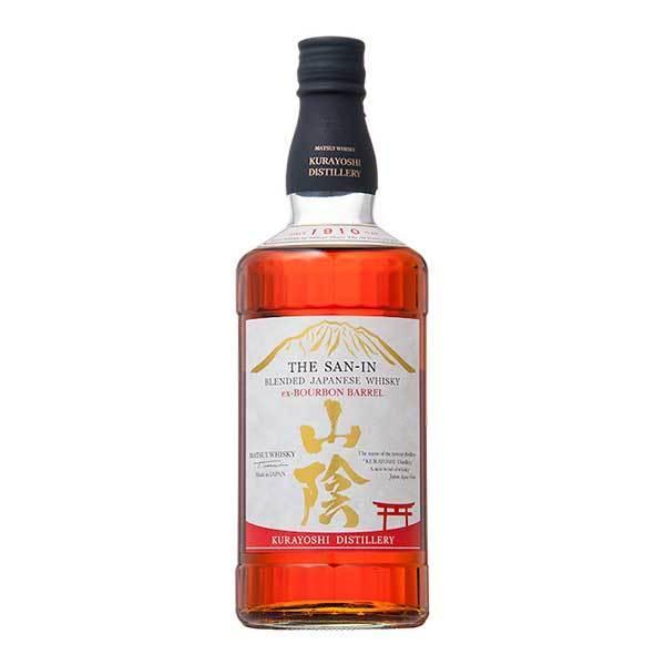 マツイウイスキー山陰バーボンバレル43度700ml 松井酒造日本鳥取県国産ウイスキー