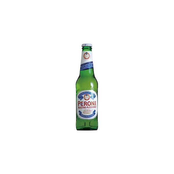 ペローニ ナストロアズーロ (瓶) 330ml x 24本(ケース販売) (同梱不可)|se-sake