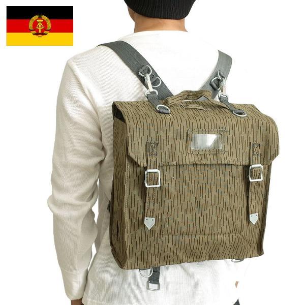 sale 東ドイツ軍 レインカモ コンバットバッグ デッドストック