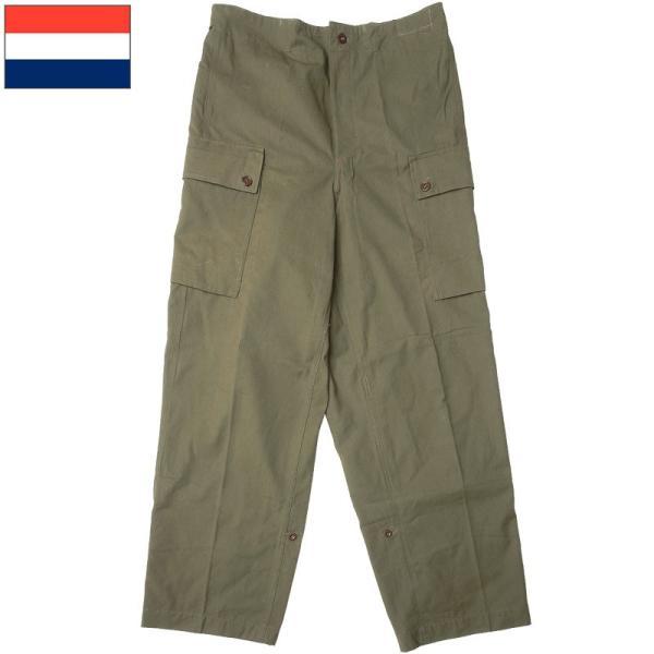 sale オランダ軍 NATO フィールドパンツ オリーブ デッドストック PP268 カーゴ コンバットパンツ