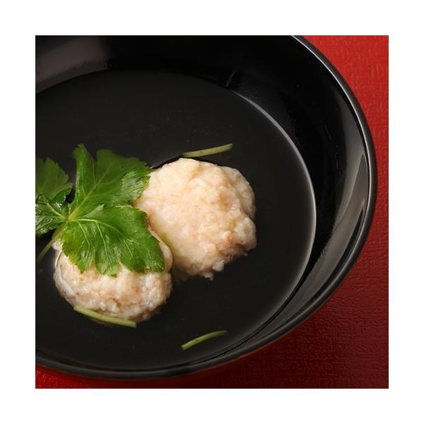 カニ ズワイガニ 惣菜 鍋 つみれ 団子 しんじょ 200g seafoodhonpo88 03