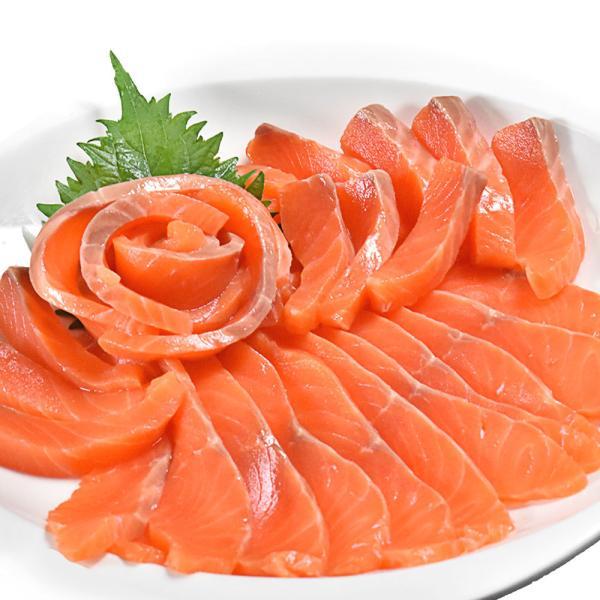 サーモン 刺身 銀鮭 半身 1kg超|seafoodhonpo88|08