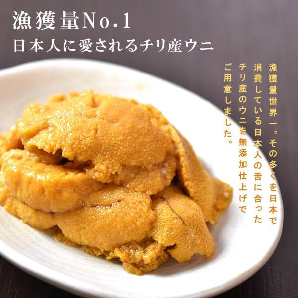 ウニ 無添加 100g 2人前|seafoodhonpo88|03