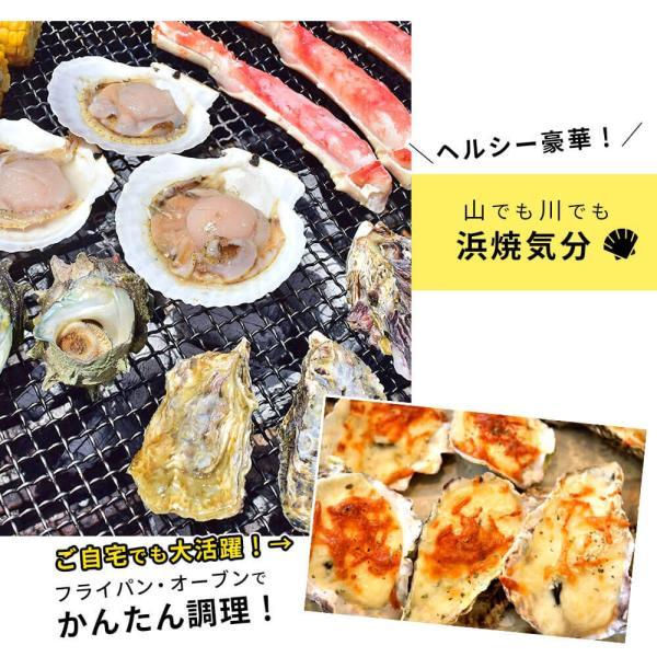 海鮮 バーベキュー ホタテ 牡蠣 サザエ 殻付き 貝 セット|seafoodhonpo88|05