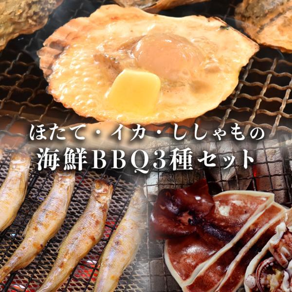 海鮮 バーベキュー ホタテ 牡蠣 エビ セット|seafoodhonpo88
