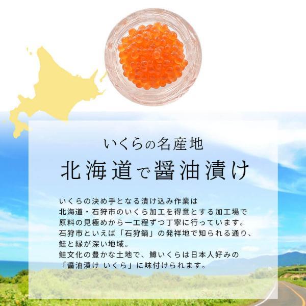 いくら 醤油漬け 500g 国内製造|seafoodhonpo88|04