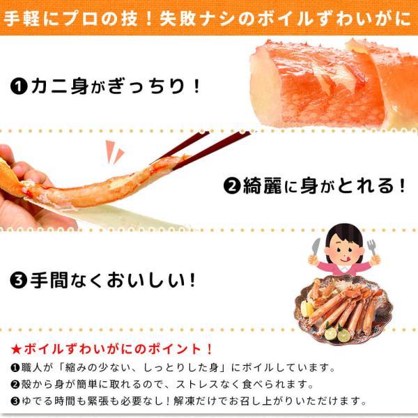 かに ズワイガニ ハーフポーション セット 1.5kg seafoodhonpo88 10