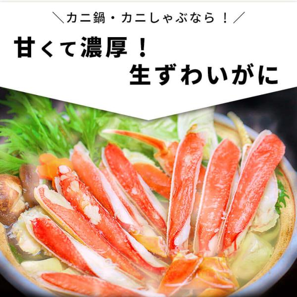 かに ズワイガニ ハーフポーション セット 1.5kg seafoodhonpo88 06