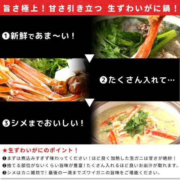 かに ズワイガニ ハーフポーション セット 1.5kg seafoodhonpo88 07
