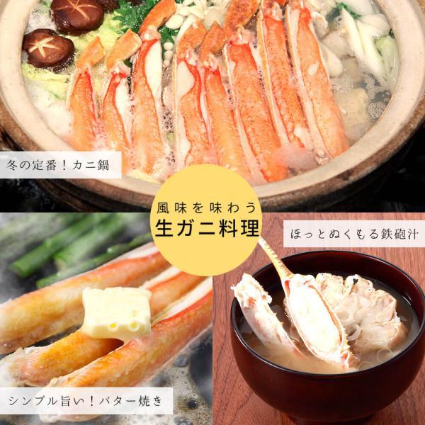 かに ズワイガニ ハーフポーション セット 1.5kg seafoodhonpo88 08