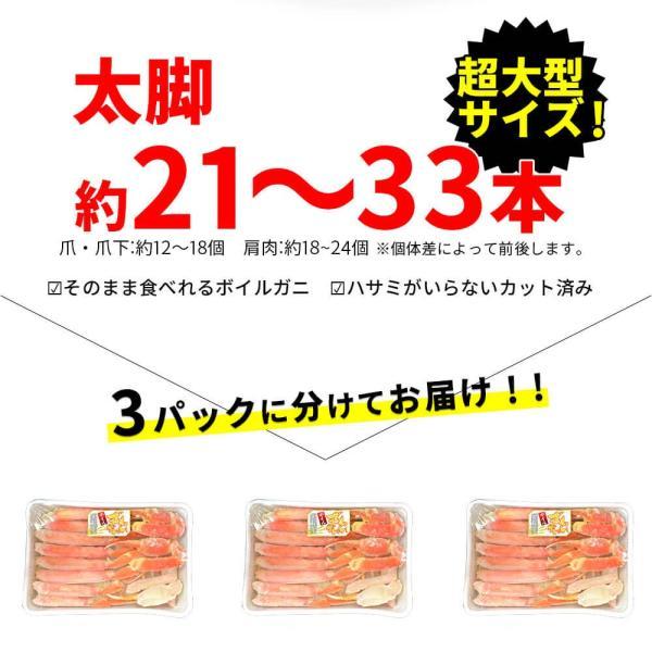 カニ 訳あり ズワイガニ ハーフポーション 2.7kg|seafoodhonpo88|06