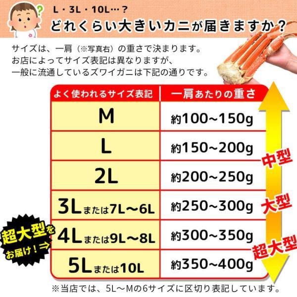 カニ 訳あり ズワイガニ ハーフポーション 2.7kg|seafoodhonpo88|07