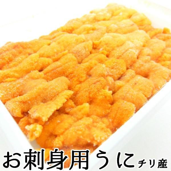 生食用うに 冷凍  お刺身用 100g  チリ産 ブランチ ・冷凍うに【ブランチ】・|seafoodmax