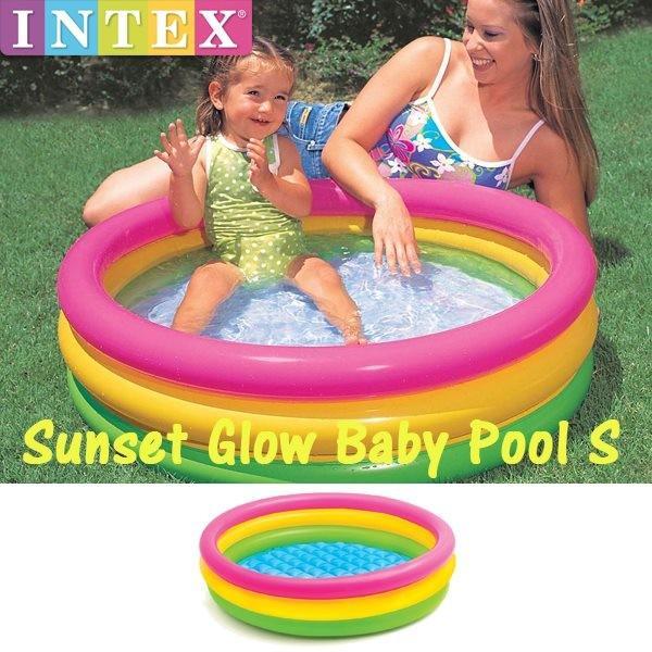 RoomClip商品情報 - INTEX(インテックス) サンセットグロウプール S 57412(プール/水遊び/幼児/子供)