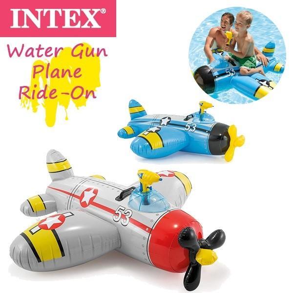 INTEX(インテックス) ウオーターガンプレ-ンライドオン 57537 (プール/海水浴/水遊び/フロート)