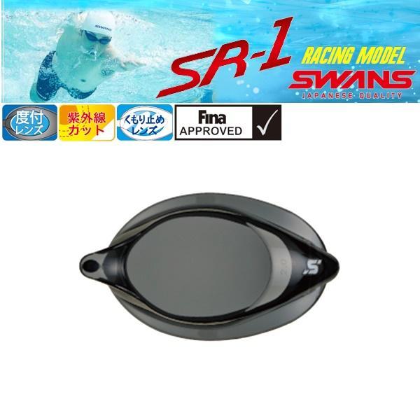 (パケット便200円可能)SWANS(スワンズ)ノンクッション度付レンズ(スイミングゴーグル/競泳/FINA承認/日本製)