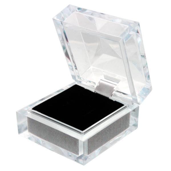 ジュエリーケース クリスタル ケース ネックレス ペンダント リング 指輪 ピアス 箱 ボックス BOX アクセサリー 用品 351r ギフト 贈り物