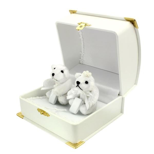 ペアリング 指輪 マリッジ ベア リング ケース 箱 ジュエリー ボックス BOX アクセサリー 用品 ma010 ギフト 贈り物