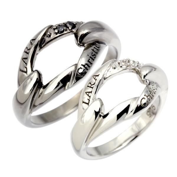 ペアリング リング 指輪 LARA Christie ララクリスティー リンケージ PAIR Label r4483-p 送料無料 母の日