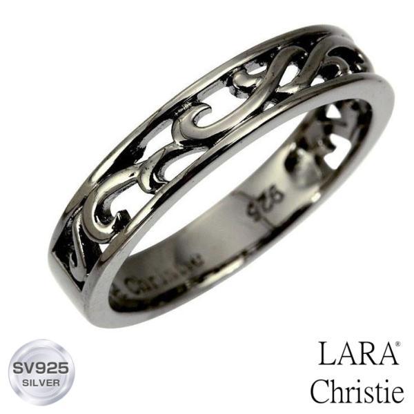 リング 指輪 シルバーアクセサリー シルバー メンズ LARA Christie ララクリスティー ランソー [ BLACK Label ] r6028-b 誕生日 ギフト プレゼント