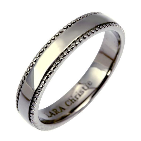 リング 指輪 シルバーアクセサリー シルバー メンズ LARA Christie ララクリスティー ギャラクシー [ BLACK Label ] 刻印対象 r6030-b 誕生日 ギフト プレゼント