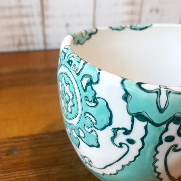 マグカップ ハワイ ビーチテイスト コーヒーカップ ティーカップ Gloriosa Mug Mint ミント エメラルドグリーン アンソロポロジー|seasky|03